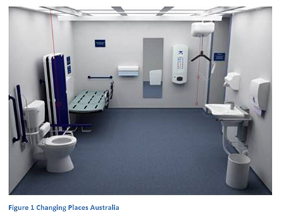 Image of an accessible bathroom