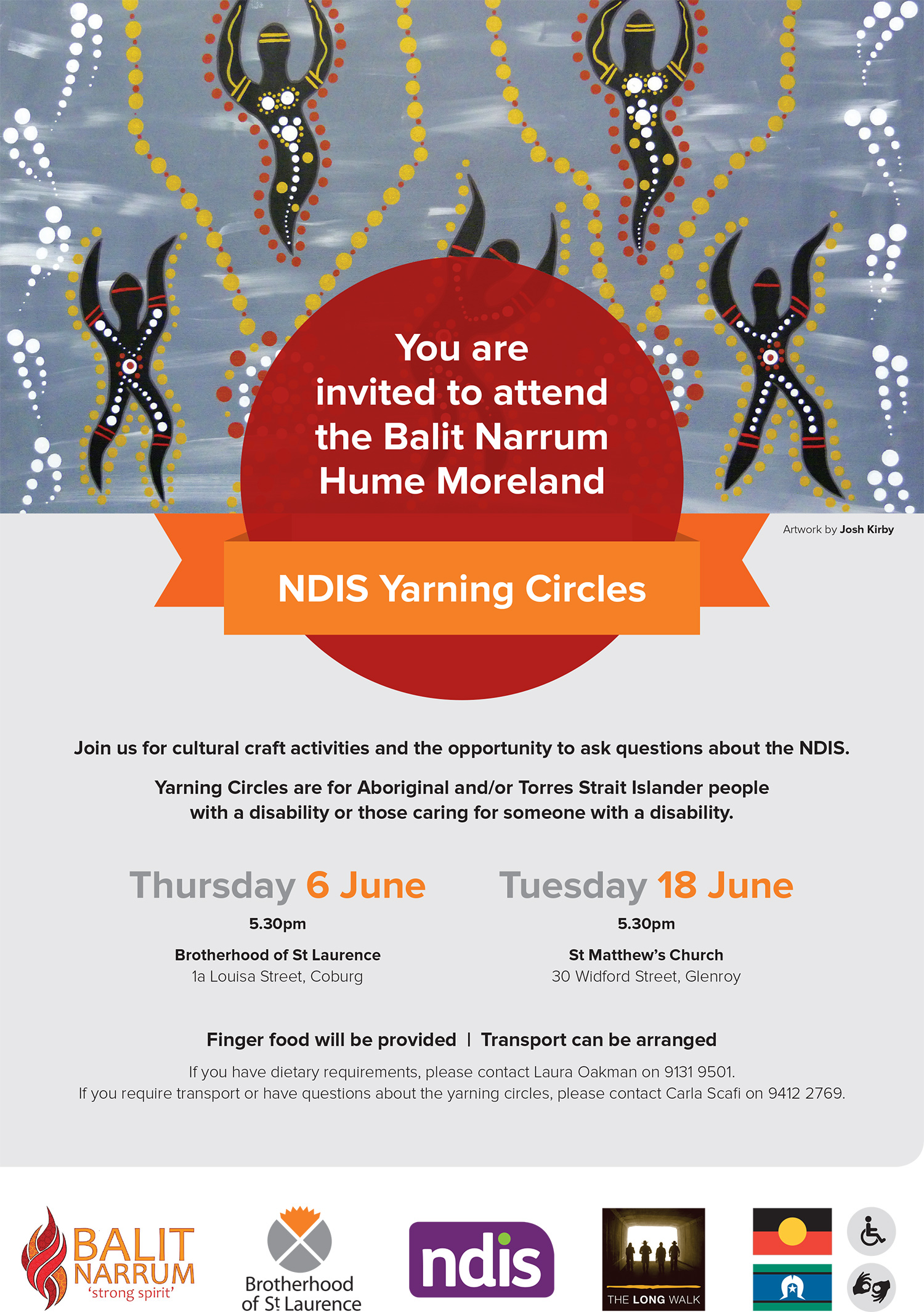 NDIS Yarning Circle Poster